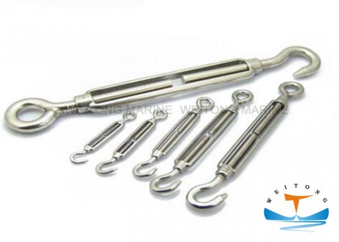 Marine Jaw Jaw Turnbuckle , Steel Turnbuckle Hardware Hot Dip Galvanzied