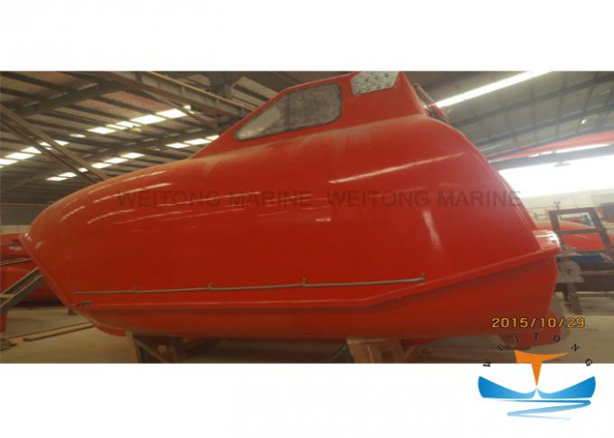Totally Enclosed Marine Rescue Boat Mercury Engine 40 Person Capacity