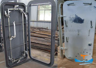 China Steel Q235 Marine Watertight Doors OEM ODM Service Natural Finish Available company