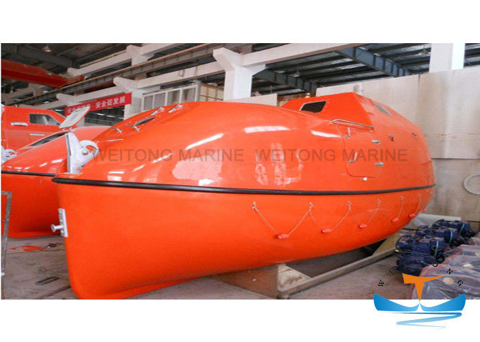 Quality Partially Enclosed Life Boat with Lifeboat Davit Solas Approved
