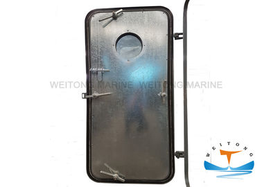 Single Leaf Watertight Doors On Ships , Ship Hatch Door Round Windows Access