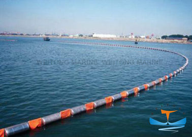 Fire Resistant Oil Absorbent Boom , Oil Boom Spill For Water Environmental Protection