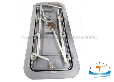 China Vessel Watertight Steel Doors Fire Proofing GB/T3477-1996 Standard With Handle factory