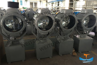 China 1000W Remote Control Marine Xenon Marine Lighting Equipment / Ship Or Boat Searchlight factory