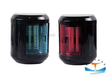China IP56 Marine Lighting Equipment , 60W E27 Ship Suez Canal Signal Light Stainless Steel Red / Blue factory