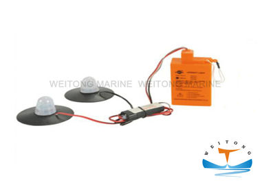 China 5 Years Validity Life Raft Light / Dry Battery Self - Ignigtng Life Buoy Light factory